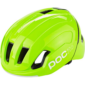 POC POCito Omne Spin Kask Dzieci, fluorescent yellow/green